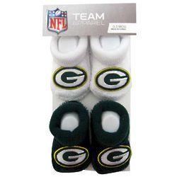 Newborn's Packers Booties
