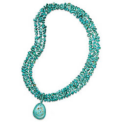 True Blue Turquoise Necklace