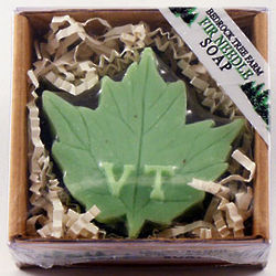 Vermont Maple Leaf Fir Needle Soap