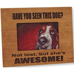 Have You Seen this Pet? Picture Frame