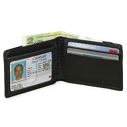 Leather RFID Slimster Wallet
