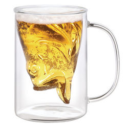 Glass Fish Mug