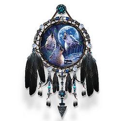 Robin Koni Wolf Songs Glow-In-The-Dark Dreamcatcher