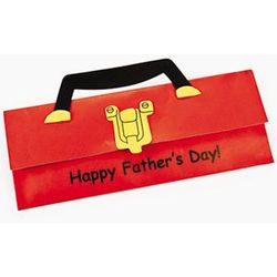 Foam and Paper Father's Day Toolbox Card Craft Kit