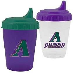 Arizona Diamondbacks 2 Pack Dripless Sippy Cups