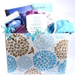 Mom's Day to Relax Gift Basket