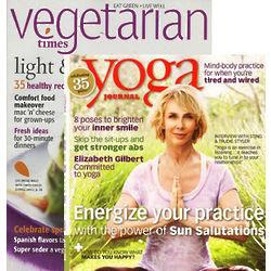Vegetarian Times/Yoga Journal Combo Subscription