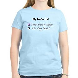My To-Do List Breast Cancer Pink T-Shirt