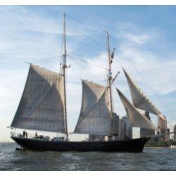 Manhattan Clipper Ship Sailing for Two