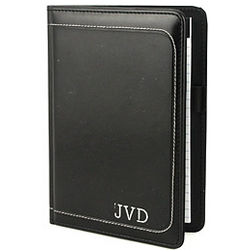 Personalized Small Leather Padfolio