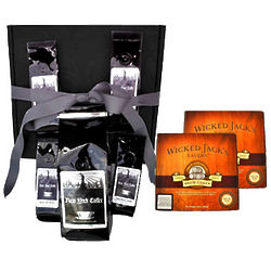 New York Coffee Manhattan Coffee Beans and Rum Cake Gift Box