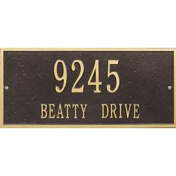 Hartford Custom Address Plaque