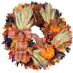 "Harvest Wheat 16"" Wreath"