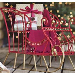 Dash Away Sleigh Holiday Decor