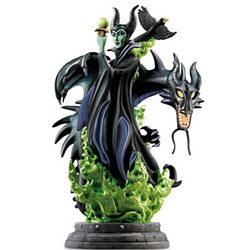 Disney Maleficent Illuminated Masterpiece Sculpture