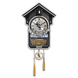 Chicago White Sox Tribute Cuckoo Wall Clock