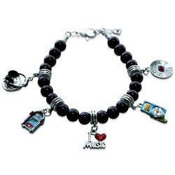 Music Lover Charm Bracelet in Silver
