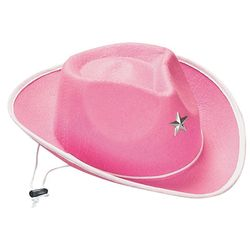 Girl's Pink Cowgirl Hat