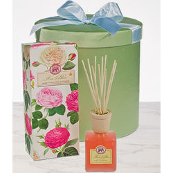 Rose Bloom Bamboo Fragrance Diffusers in a Hatbox
