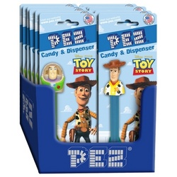 Toy Story Pez Dispensers with Pez Candy Refills