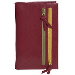 Tour One Wallet in Pomegranate