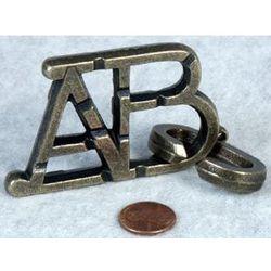 ABC Metal Disentanglement Heavy Duty Puzzle