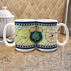 "Notre Dame ""Road To"" Mug Set"