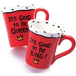 It's Good to Be King or Queen Mug