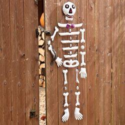 Small Felt Hanging Skeleton Decoration