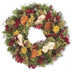 "Fall Orchard 22"" Wreath"