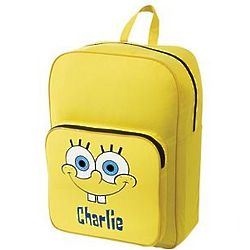 Personalized SpongeBob Backpack