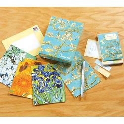 Vincent Van Gogh Floral Note Cards