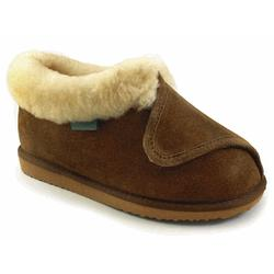Closed Toe Heavenly Wrap Adjustable Sheepskin Booties