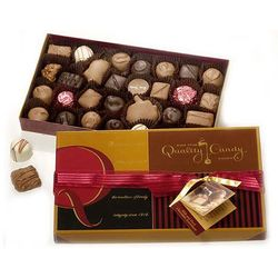 Assorted Milk and Dark Chocolates Gift Box