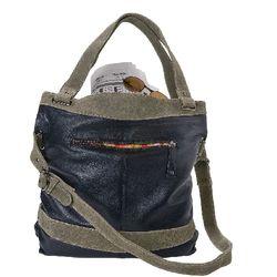 Women's Fold-Over Cross-Body Bag