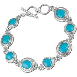 Sleeping Beauty Turquoise Toggle Bracelet