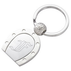 Lucky Horse Shoe Keychain