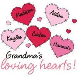 Loving Hearts Valentine T-shirt