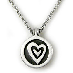 Be-Loved Pewter Photo Locket