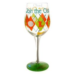 Golf Wine Glass