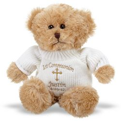 Personalized First Communion Teddy Bear