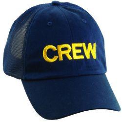 Embroidered Crew Baseball Cap