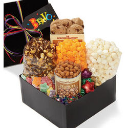 Bravo! Popcorn and Snack Sampler Gift Box