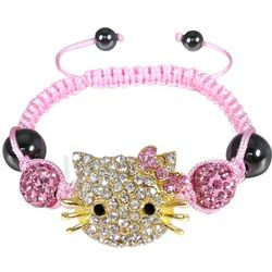 Children's Kitty Shamballa Bracelet