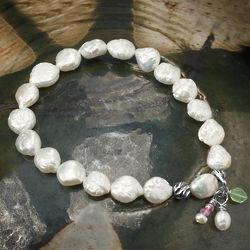 Coin Pearl Bracelet
