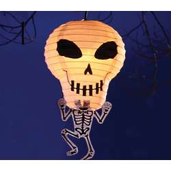 Decorative Skeleton Lantern