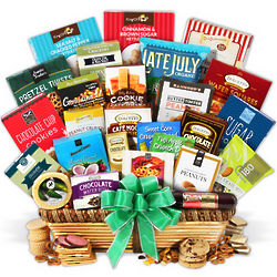 Family Snacks and Treats Gourmet Gift Basket