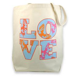 Love Canvas Tote