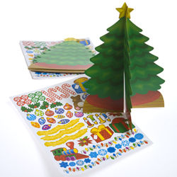 Christmas Tree and Stickers