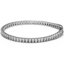 6 Carat Simulated Diamond Eternity Bracelet